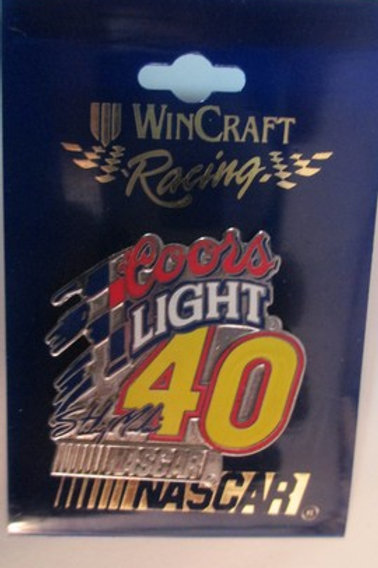 2000 Coors Light Hat Pins / Sterling Marlin  Hat Pit #1
