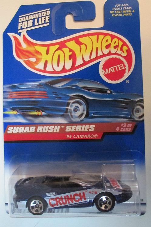 1997 Sugar Rush Series 1995 Camaro / Hot Wheels 1:64  Peg