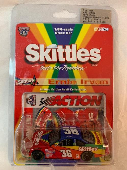 1998 Skittles  - Starburst / Ernie Irvan 1:64 Box#13