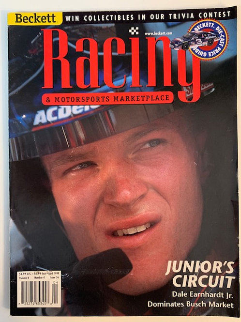 1999 Beckett Card Monthly Issue# 56 /Dale Earnhardt Jr.
