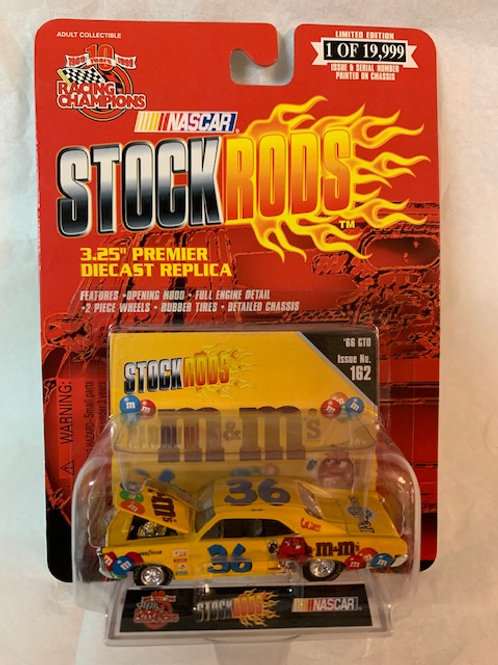 1999 M&M's 1966 GTO Stock Rods / Ernie Irvan 1:64 Box#14