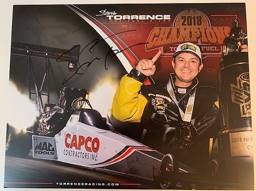 2019 Autographed Capco Contractors Top Fuel / Steve Torrence