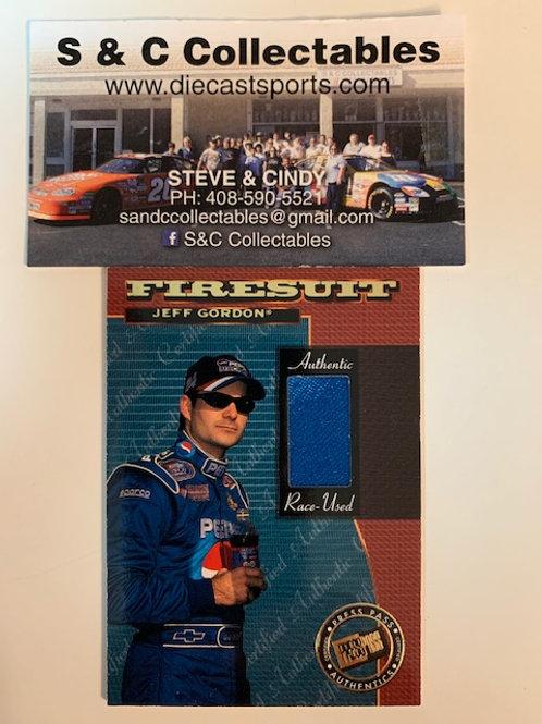 1999 FireSuit Raced-Used  / Jeff Gordon Box# AA