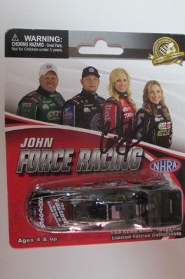 2014  Autograph Traxxas Funny Car  / Courtney Force 1:64