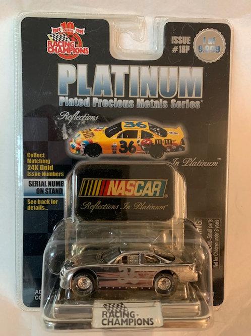 1999 M&M's Plated Precious Metals Series Platinum  / Ernie Irvan 1:64 Box#15