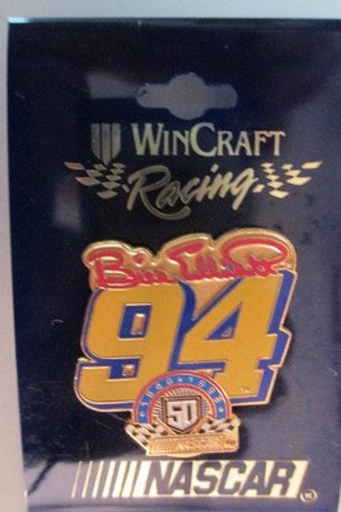 1998 NASCAR 50th 1948-1998 / Bill Elliott   Hat Pin #2
