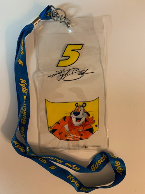 2006 Tony the Tiger  Credential Holder w/Lanyard / Terry Labonte  Box# 100