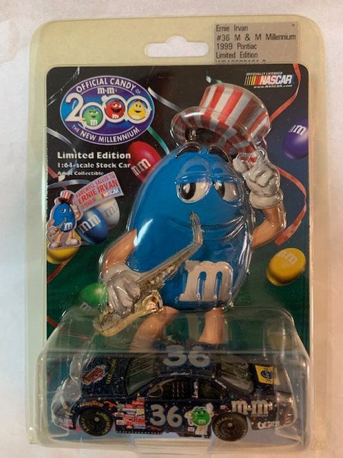 1999 M&M's Cool Blue Millennium / Ernie Irvan 1:64 Box#13