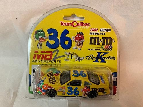 2002 M&M's Car / Ken Schrader 1:64 Box#13