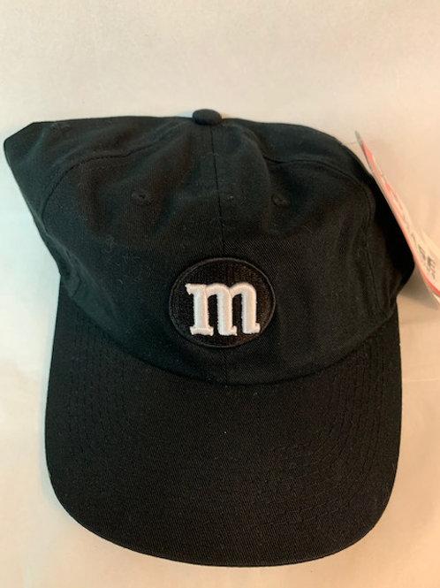 2004 M&M's Brands Black M Hat / Elliott Sadler Hat#38