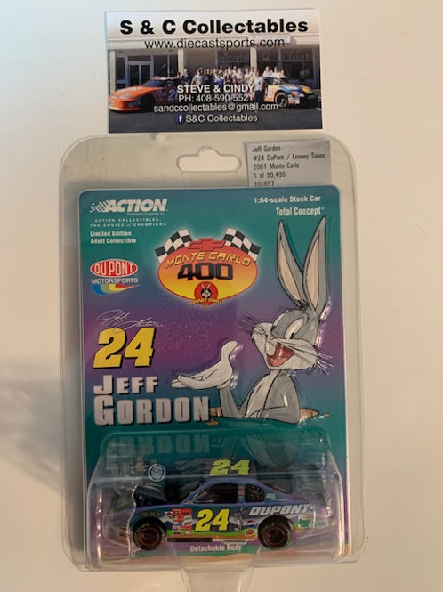 2001 DuPont - Looney Tunes Bugs Bunny / Jeff Gordon 1:64  Box# BBB