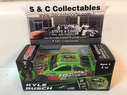 2015 M&M's NASCAR Sprint Cup Champion / Kyle Busch 1:64