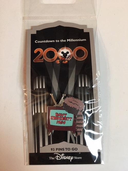 2000 Davy Crockett Disney Hat Pin
