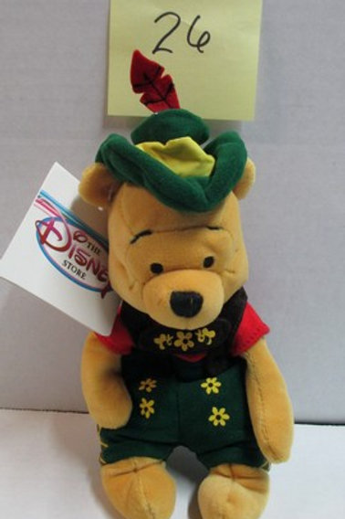 "October Fest Pooh 8"" / Disney Beanes"