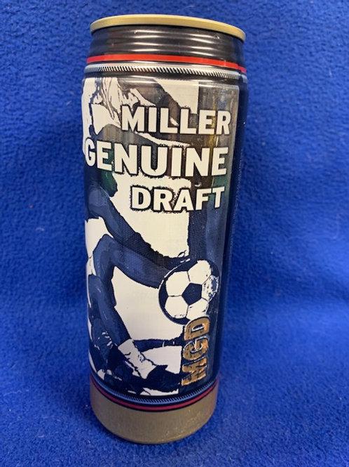 ???? Miller Genuine Soccer MGD Beer Can