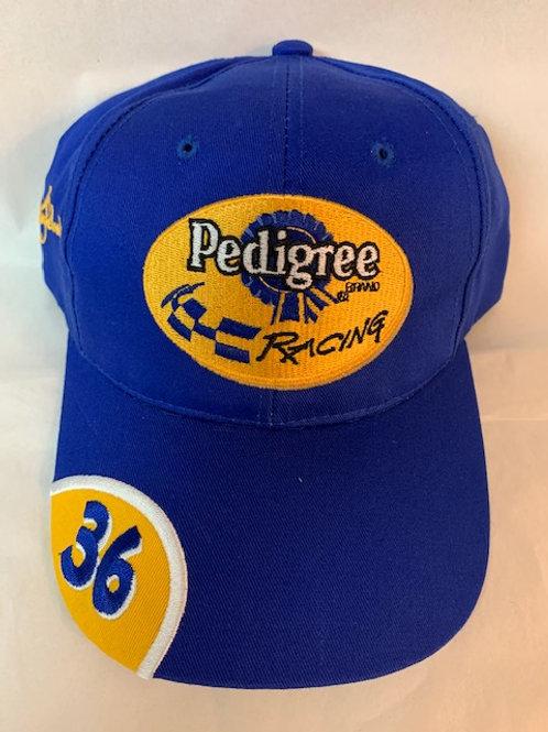 2002 Pedigree Brand Racing Hat / Ken Schrader Hat#38