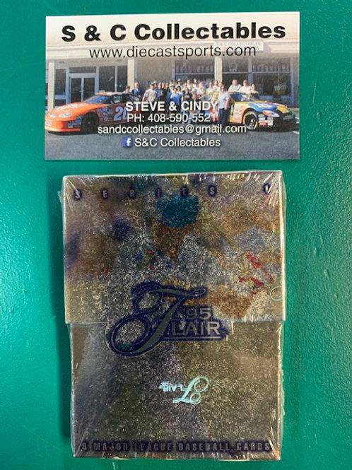1995 Flair Unopen Pack of 9 Each  / Baseball Box# B1