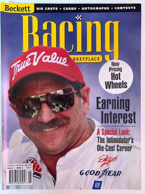 1999 Beckett Card Monthly Issue# 57 / Dale Earnhardt Sr