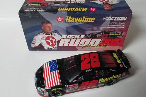 2001 Havoline - 911 Memorial / Ricky Rudd 1:24