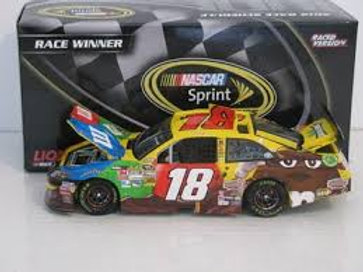 2012 M&M's - Budweiser Shootout Win / Kyle Busch 1:24