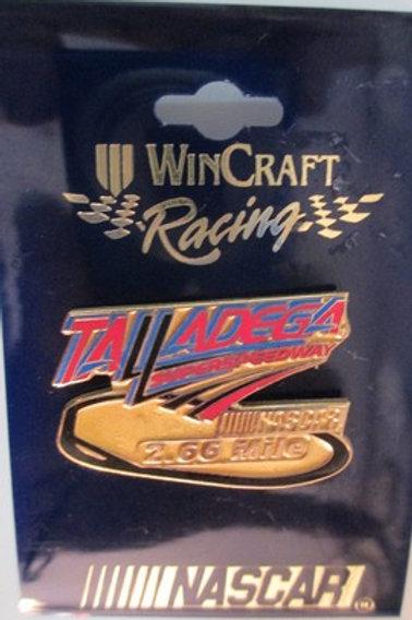 2004 Talladega Super-speedway 2.66 Miles Hat Pins /  Hat Pin #1