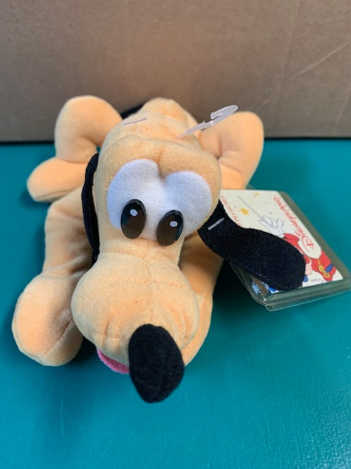 Disney Beanies Traditional Pluto ---Peluche Pluto (Paris)