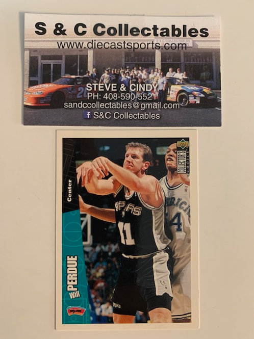 1996-97 Upper Deck Will Perdue Center Card# 142 / Basketball--BK1