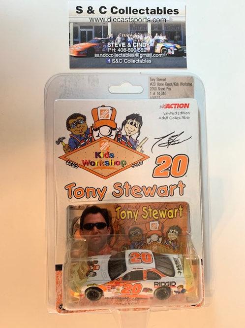 2000 Home Depot -  Kids Workshop / Tony Stewart 1:64  Box# AAA