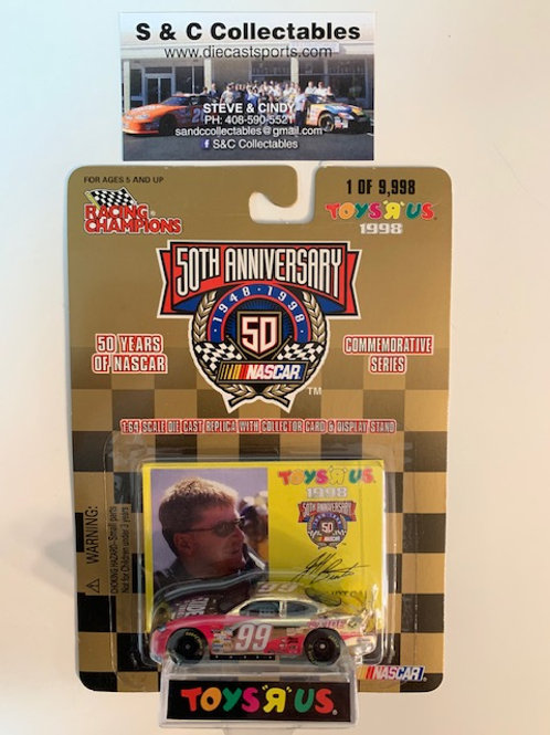 1998 EXIDE Batteries Toy's R Us Gold Car  / Jeff Burton 1:64  Box# 42