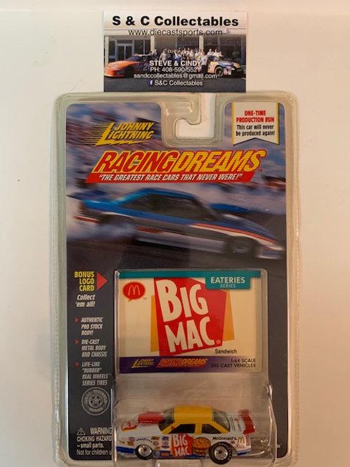 1999 Big Mac Sandwich  / Johnny Lightning - Hot Wheels 1:64 Box#40