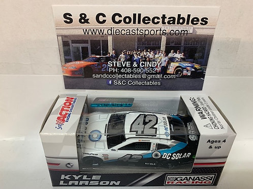 2018 DC Solar Darlington Throwback / Kyle Larson 1:64