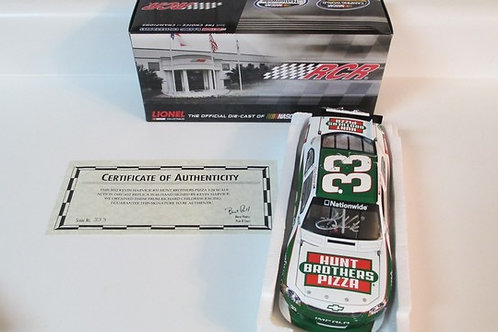 2012 Autographed Hunt Brothers Pizza / Kevin Harvick 1:24  Wall