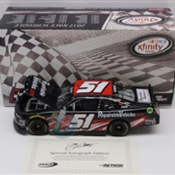 2017 Autographed Repairable Vehicles. com / Jeremy Clements 1:24  Wall