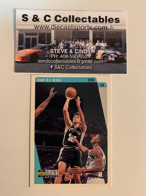 1997-98 Upper Deck Vinny Del Negro Card# 126  / Basketball--BK1