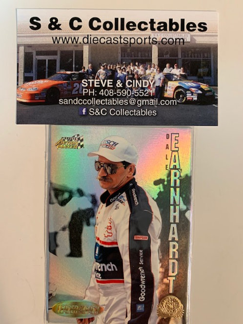 1996 GM Goodwrench Leader of the Pack  / Dale Earnhardt Sr.  Cards
