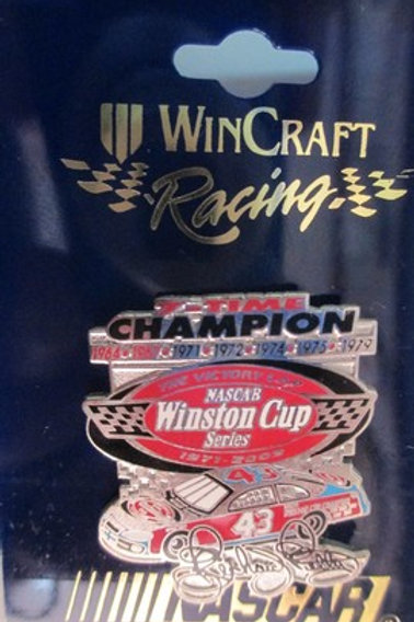 2003 NASCAR Winston Cup Series 7 Time Champion  / Richard Petty  Hat Pin #2
