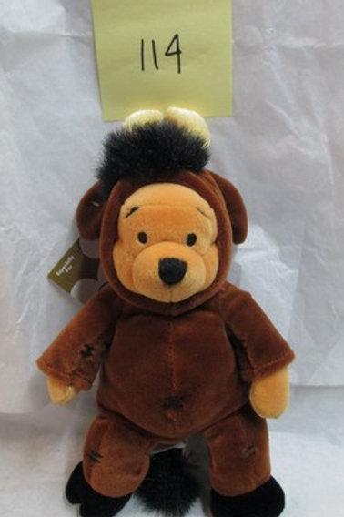 "Taurus Pooh 8""  / Disney Beanies"