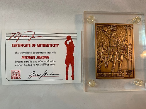 1991-1992  Bronze Card  / Michael Jordan Drawer# 1