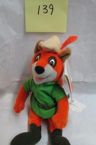 "Robin Hood 8"" / Disney Beanies"