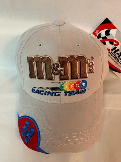 2003 M&M's Brand #38 Light Brown  Hat / Elliott Sadler Hat#38