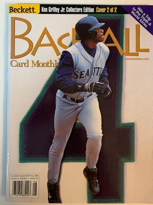 1999 Beckett Card Monthly Issue# 173 / Ken Griffey Jr.-Baseball