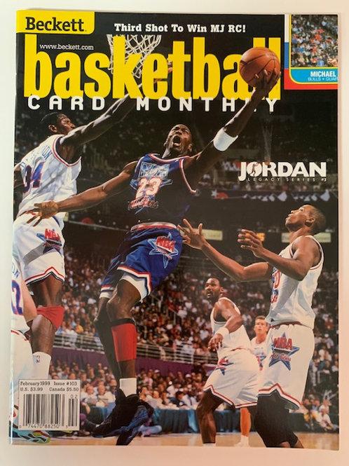 1999  Beckett Card Monthly Issue#103 Michael Jordan / Basketball