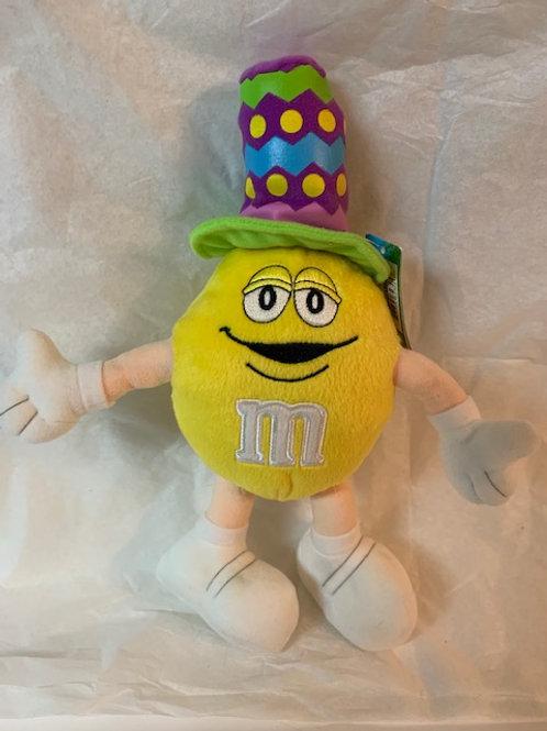 ???? M&M  Screaming Yellow Multicolored Hat / M&M Stuff Box#1