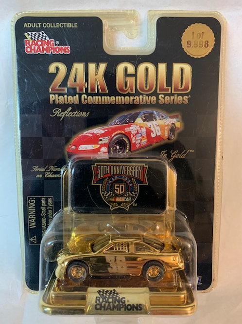 1998 Skittles 24K Gold Plated Commemorative Series / Ernie Irvan 1:64 Box# 2