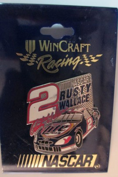 2000 Miller Lite Hat Pins / Rusty Wallace   Hat Pin #1