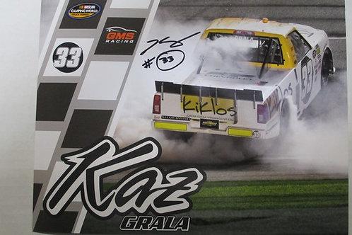 2017 Kiklos Autographed / Kaz Grala