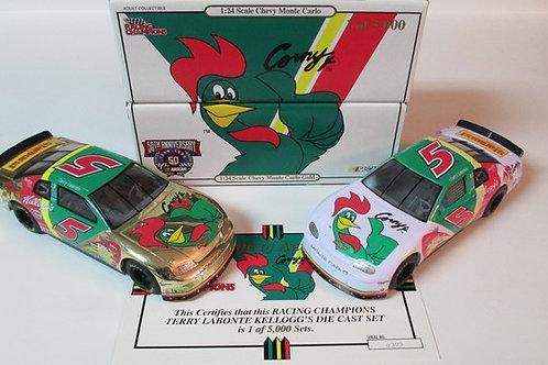 1998 Kellogg's Corny 2 Car Set / Terry Labonte 1:24