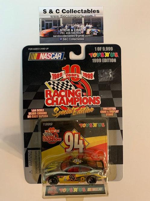 1998 McDonald's Drive Thru / Bill Elliott 1:64 Box#40