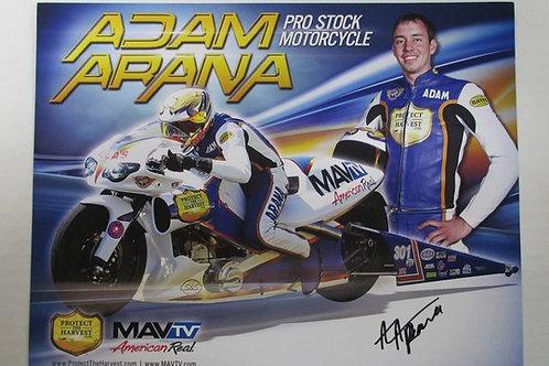 2013 MAVtv American Real Autographed / Adam Arana