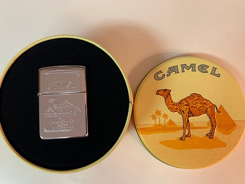 1994 Vintage Camel Zippo Lighter NEW in Tin - Rare Double Sided